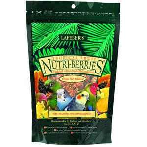 Lafeber Tropical Fruit Nutri-Berries for Cockatiels 300 g