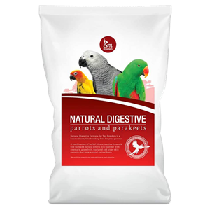 GM Breeders Natural Digestive Formula - Parrots and Parakeets