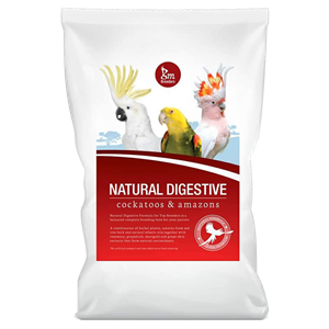 GM Breeders Natural Digestive Formula - Cockatoos & Amazons