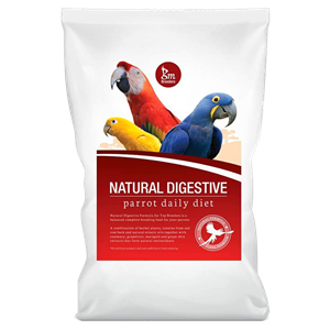 GM Breeders Natural Digestive Formula - Parrot Daily Diet